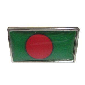 Bangladesh Flag Fashion Ring